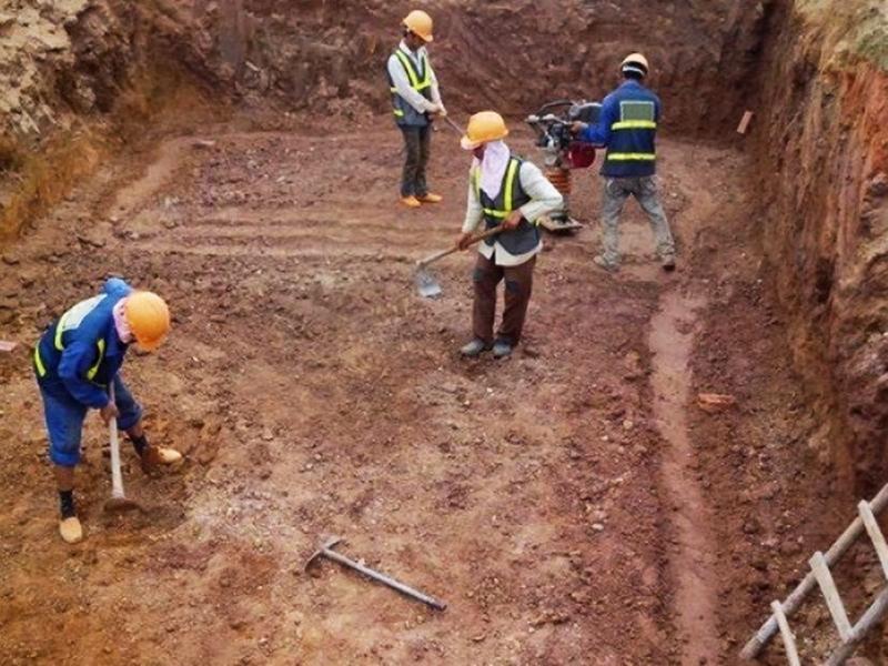 Công tác đào đất