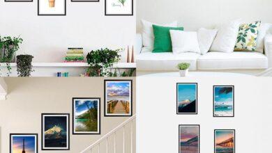 Photo of Các cách treo tranh, bố cục tranh trong trang trí nội thất nhà ở
