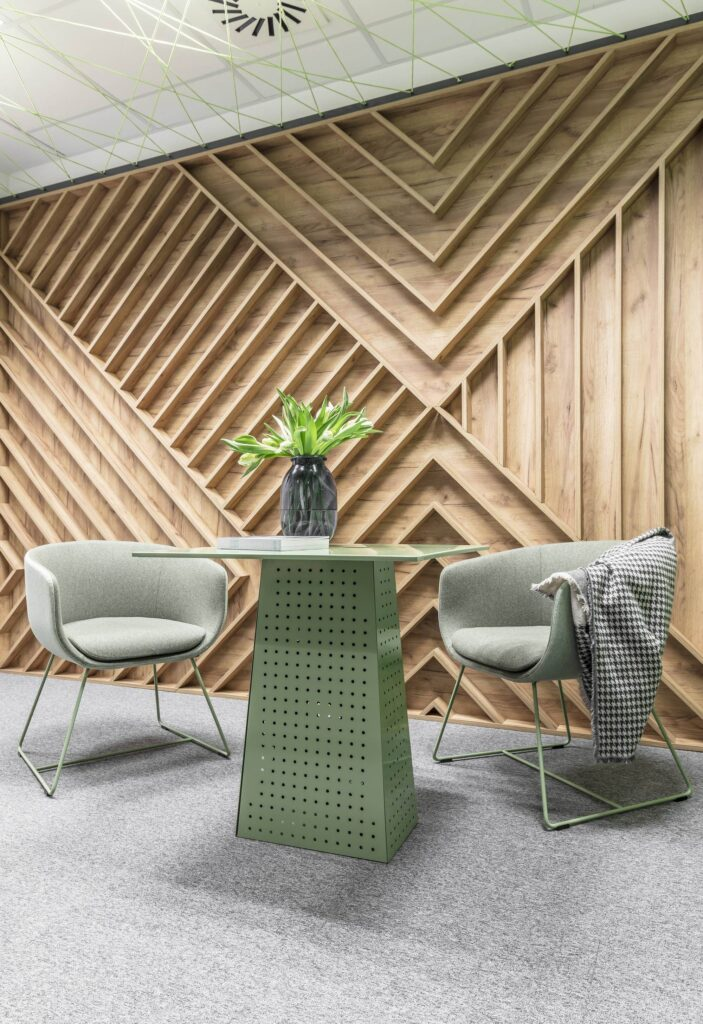 Ốp gỗ tường luôn là giải pháp nội thất sang trọng, bắt mắt